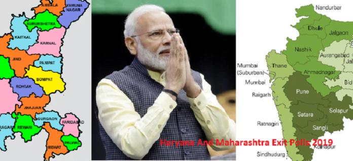 Haryana Maharashtra Exit Polls 2019