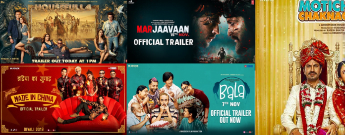 Top 5 Movies Trailer 2019